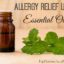 Essential oils have a big role to play in allergy relief