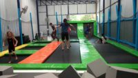 Trampoline for fun and fitness