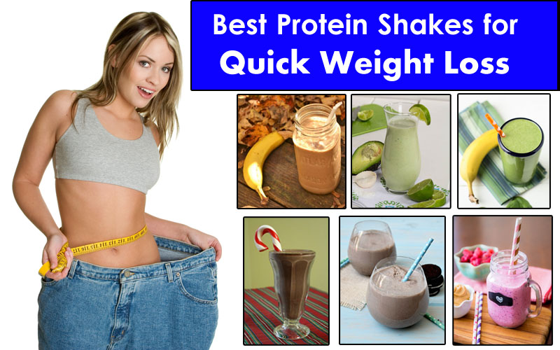 shakes to lose weight what time